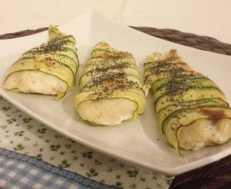 Filetti di merluzzo nelle zucchine