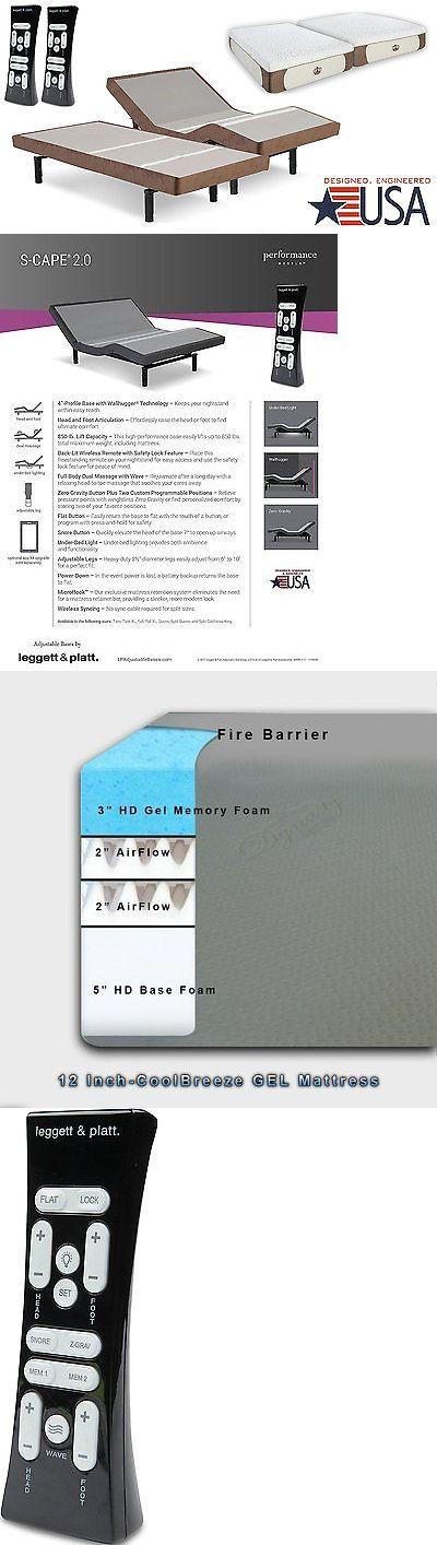 Mattresses 131588: Split King Adjustable Bed Scape 2.0 Leggett And Platt W Dynasty 12 Gel Mattress -> BUY IT NOW ONLY: $2299 on eBay!