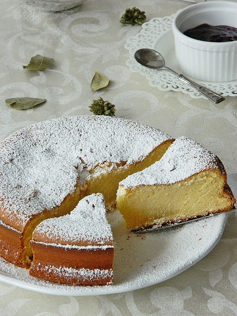 A sweet treat in summer - a South African Condensed Milk Cake.