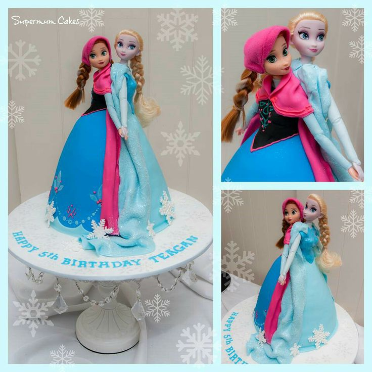 Frozen Barbie Cake Design : 1000+ ideas about Frozen Barbie Cake on Pinterest Elsa ...
