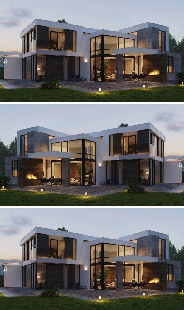 12 Most Stunning House Exterior Design Best Ideas 2019 Modern