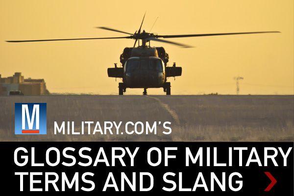 military lingo dictionary