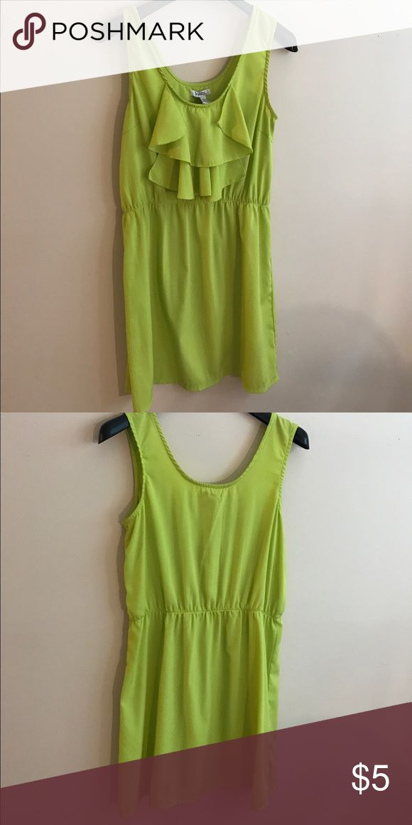 ⚡️MOVING SALE⚡️All rock bottom prices Neon green dress Dresses Mini