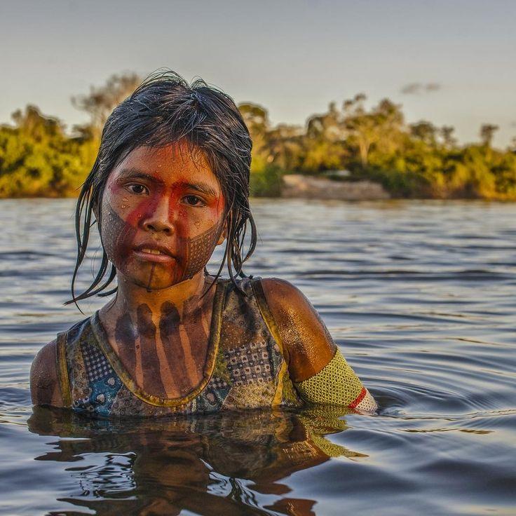 Kayapó Girl, Xingú River