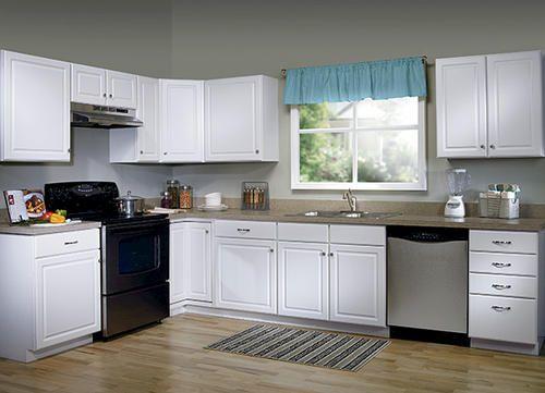 Best White Cabinets Menards Kitchen Cabinets Stock Kitchen 400 x 300