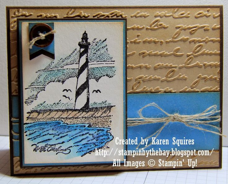 Stampin' By The Bay: Coast to Coast North Caroline Lighthouse