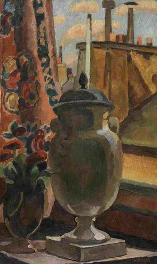 Vanessa Bell.  Still Life at a Window.
