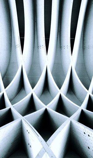 Решетчатые структуры фасадов
