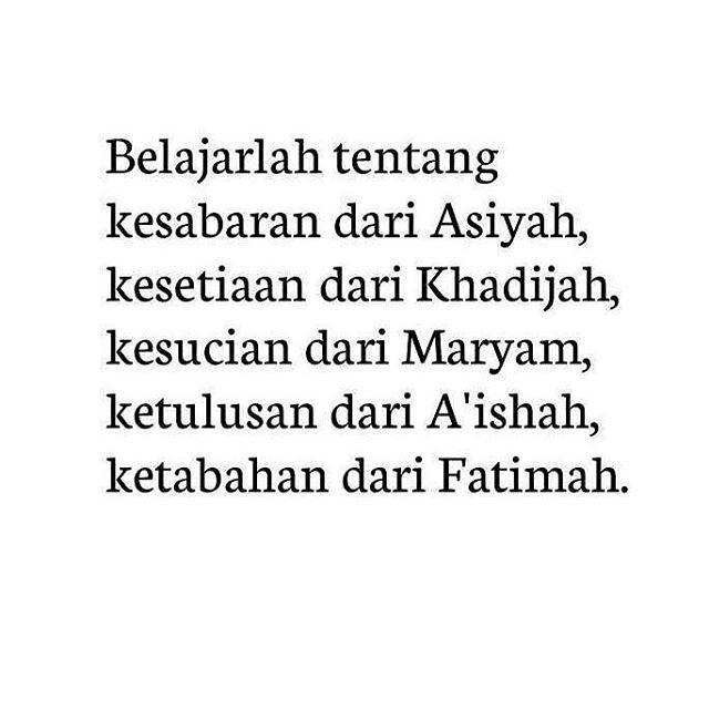 Perempuan Perempuan Hebat Dalam Islam Follow