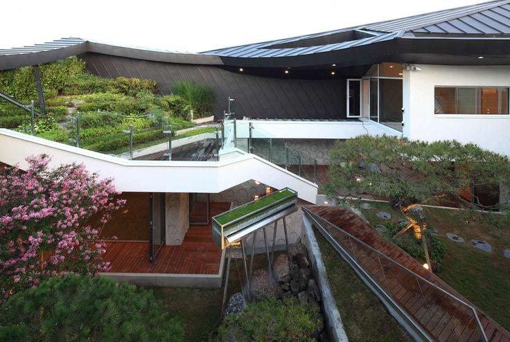 Neo-Traditional Korean Homes: 6 Modern Updates on the Vernacular Style Ga On Jai by IROJE KHM Architects, Kwangmyong, South Korea