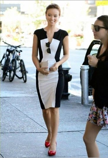 Black & White Dress - Vintage Lissy