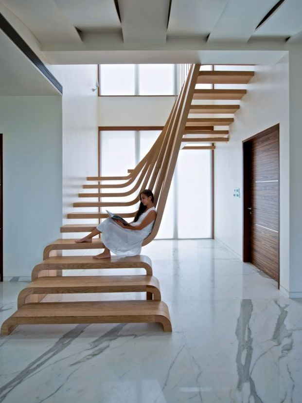 56 best escalera images on Pinterest | Stairs architecture, Interior ...