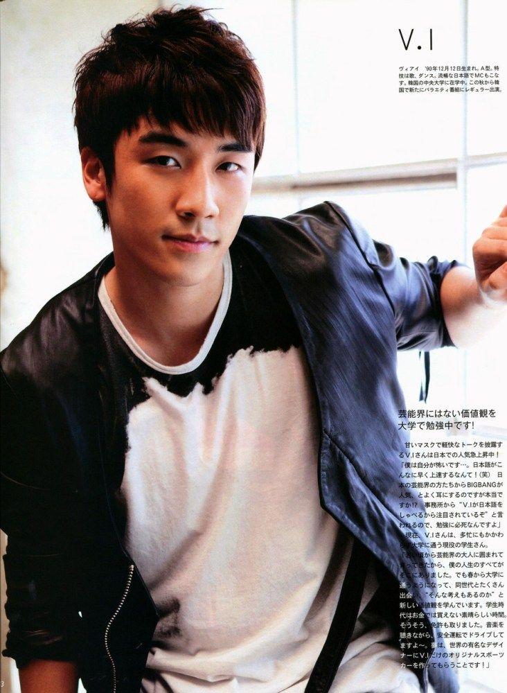 Seungri a.k.a V.I  ♡ #BIGBANG for AnAn Magazine 2010: