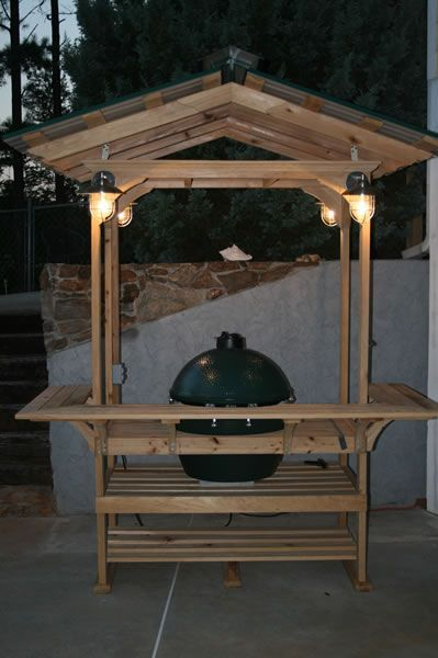 Tables for the Big Green Egg®