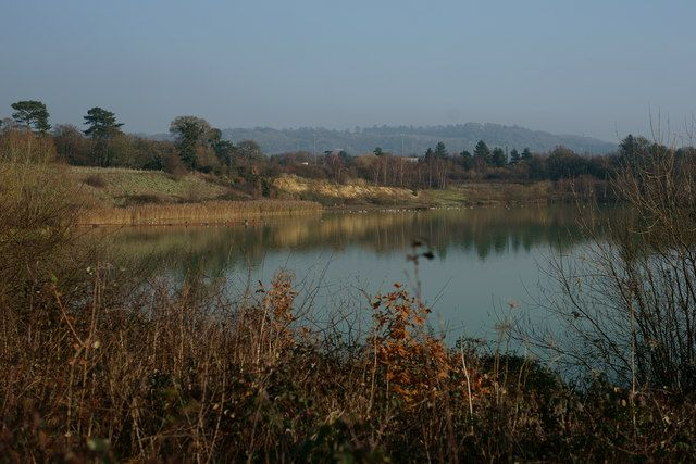 Spynes Mere Nature Reserve, Merstham by Peter Trimming