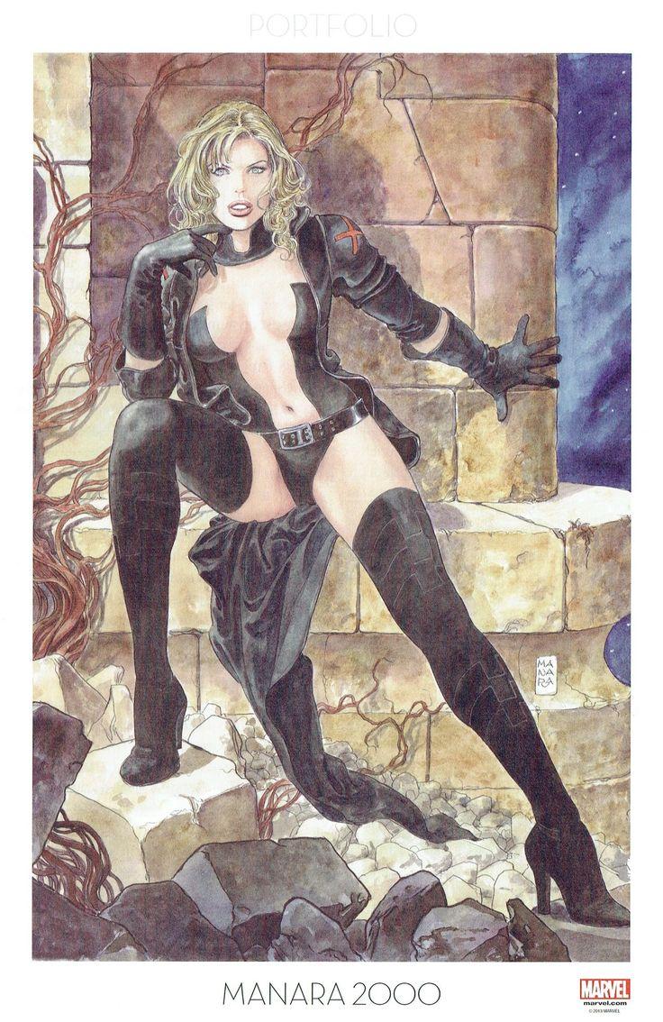 Milo Manara - Vol. 9, Manara 2000-203 (Uncanny X-Men. 'Emma Frost' 2013)