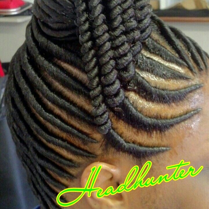 Stuffed Twist Black Hairstyles