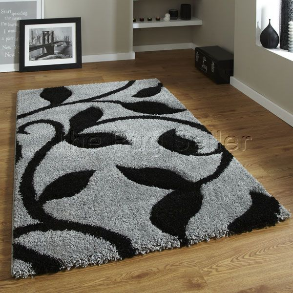 For High Quality Rugs At Great Prices The Fashion 7647 Modern Rug Grey Black A Price And Get Free Fast Delivery