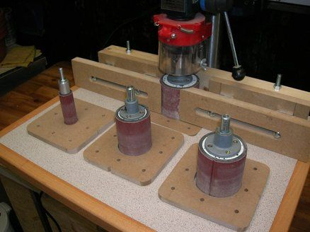 Drill press and sander table