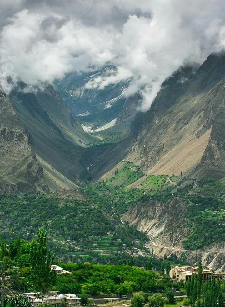 Nagar Valley - Captured from Baltit Fort