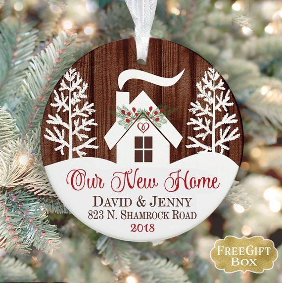 Our New Home Ornament New House Gift First Home Gift Idea Etsy New Home Gifts House Gifts First Home Gifts
