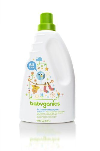 BabyGanics Loads of Love 3X Laundry Detergent, Economy Size, Fragrance Free, 64-Fluid Ounce Bottle, Packaging May Vary null,http://www.amazon.com/dp/B0038QQ7Q4/ref=cm_sw_r_pi_dp_m-Hltb0BBHMZBKB6 I received trial size at baby shower. ($21 for 64 fl oz)
