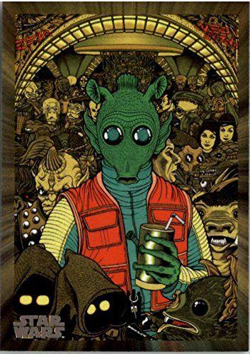 2017 Star Wars 40th Anniversary #178 Greedo - NM-MT //Price: $1.49 & FREE Shipping //     #starwarsfan