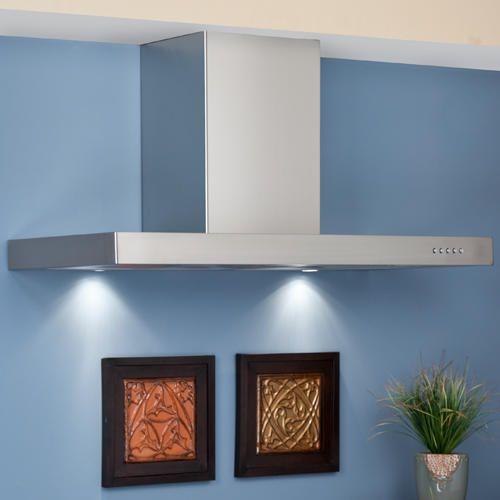 """42"""" Villa Series Stainless Steel Wall-Mount Range Hood - 502 CFM Fan"""