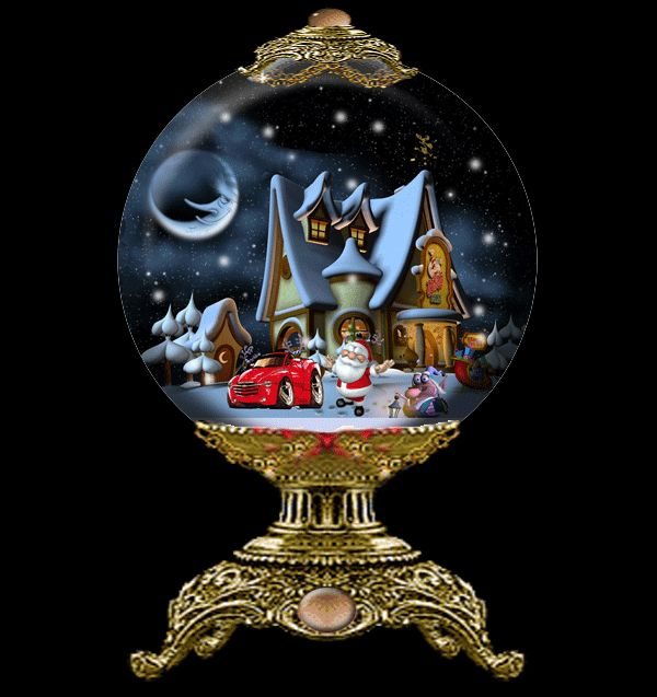 47 Animated Snow Globes Images Pinterest Christmas Globe Gif