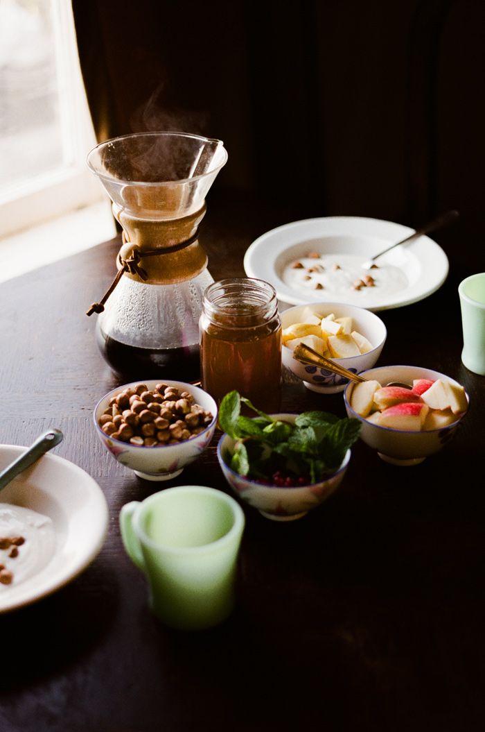Mornings. Breakfast w/ Van & Marte.