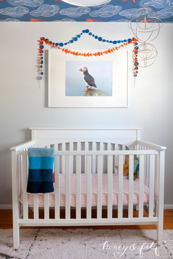 Room Reveal: Baby Benedict's Icelandic Inspired Blue