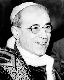 Pope Pius XII: saviour of the Jews in Europe during World War II