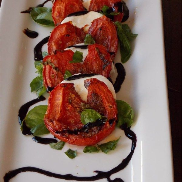 "Roasted Tomato Caprese Salad I ""Delicious! Make this and make it often ..."