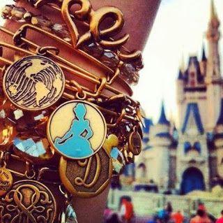 New Princess Cinderella Disney Alex and Ani Bangle Bracelets coming soon to Downtown Disney store.