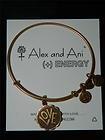 Alex and Ani Crazy LOVE Bangle Expandable Wire Bangle Russian Gold HTF