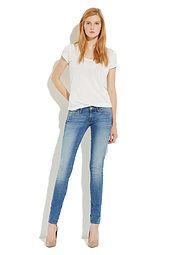 Gölgeli Orta #Mavi Jean Pantolon