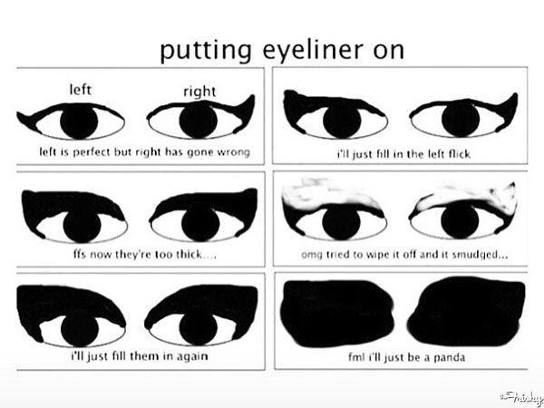 Eyeliner problems