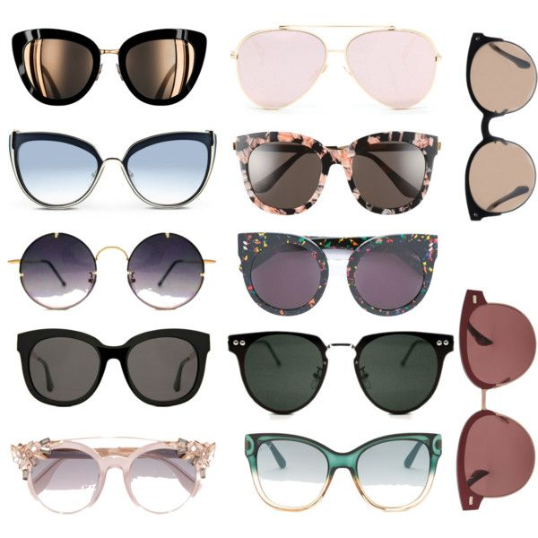 A fashion look from February 2017 featuring Karl Lagerfeld sunglasses, Gentle Monster sunglasses e Spitfire sunglasses. Browse and shop related looks.