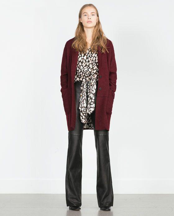 les 25 meilleures id es de la cat gorie manteau femme zara sur pinterest veste zara manteau d. Black Bedroom Furniture Sets. Home Design Ideas