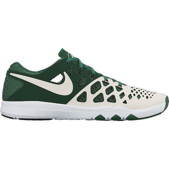 Men's New York Jets Nike Green Train Speed 4 NFL Kickoff Collection Shoes