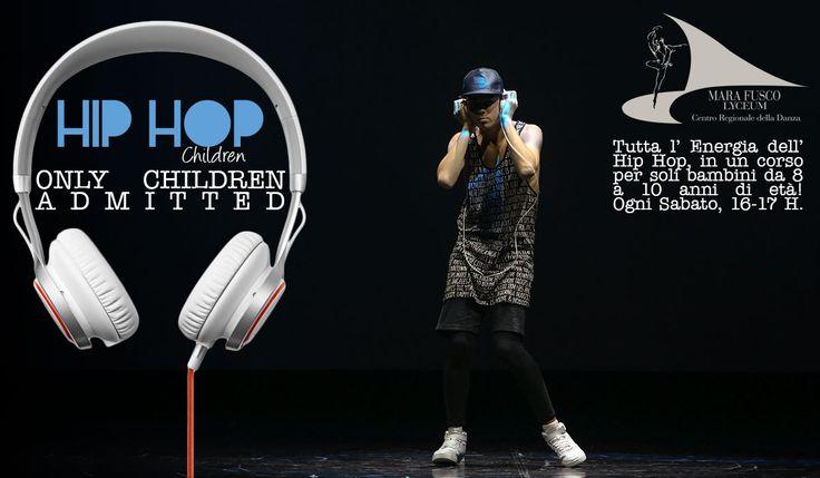 """TUTTA L' ENERGIA DELLA HIP HOP DANCE......in un corso dedicato esclusivamente ai più piccoli!Prosegue, Sabato 14, il corso speciale che abbiamo chiamato """"Hip Hop Children"""".Il corso è rivolto ai bambini dagli 8 ai 10 anni d'età ed avrà frequenza settimanale. Lo scopo è quello di fornire ai più piccoli gli strumenti per affrontare la tecnica di una danza molto vicina ai più giovani.Le lezioni si svolgeranno ogni Sabato dalle ore 16.00 alle ore 17.00.Per maggiori informazioni, iscriz..."""