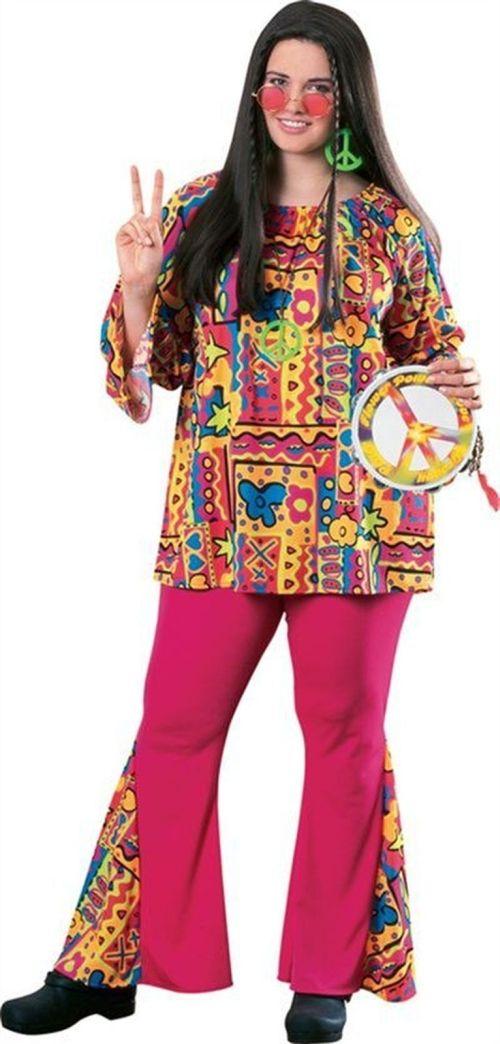 70s Hippie Costumes For Women Hippie Mama Women S Plus