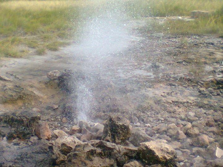 Hot springs, Binga, Zimbabwe