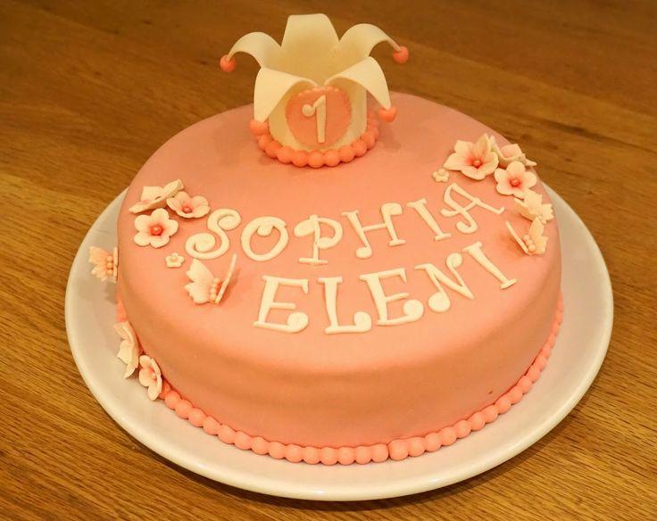 Nydelig sjokoladekake med oreokrem til en liten prinsesse :)