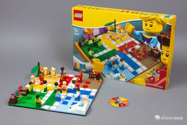 40198 LEGO Ludo Game (also known as Parcheesi or Sorry!) [Review