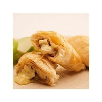 Brie, Apple and Walnut Phyllo Triangles by Canadian Living