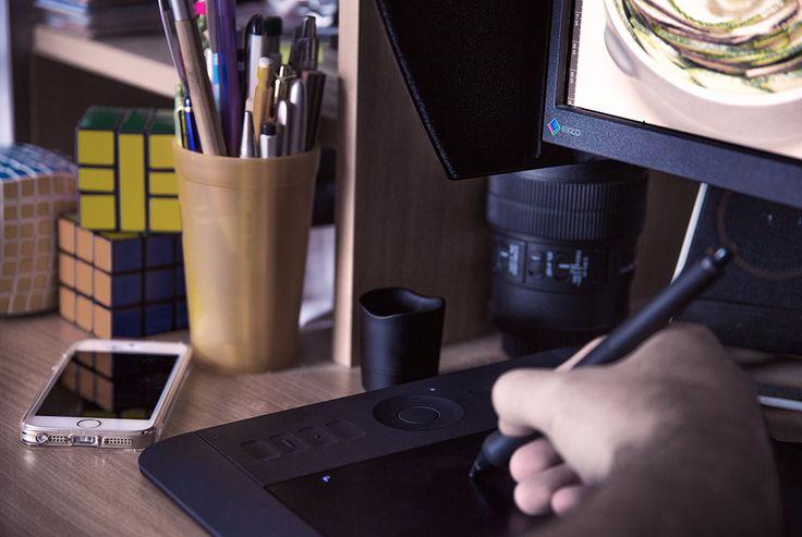 [Dossier Retouche] Les Outils: Tablette Graphique | Darth's Blog