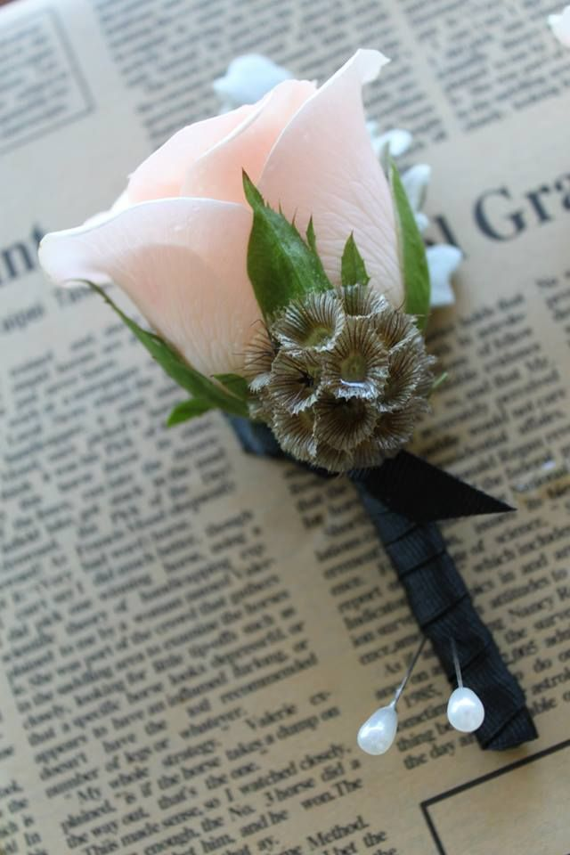 Unique Wedding Buttonhole Designs. Enquire Online At Jaclyn Roma Floral Design. https://jaclynroma.com/floral-design/