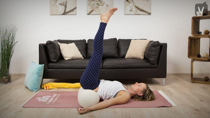 Yin Yoga für Anfänger gegen Erschöpfung
