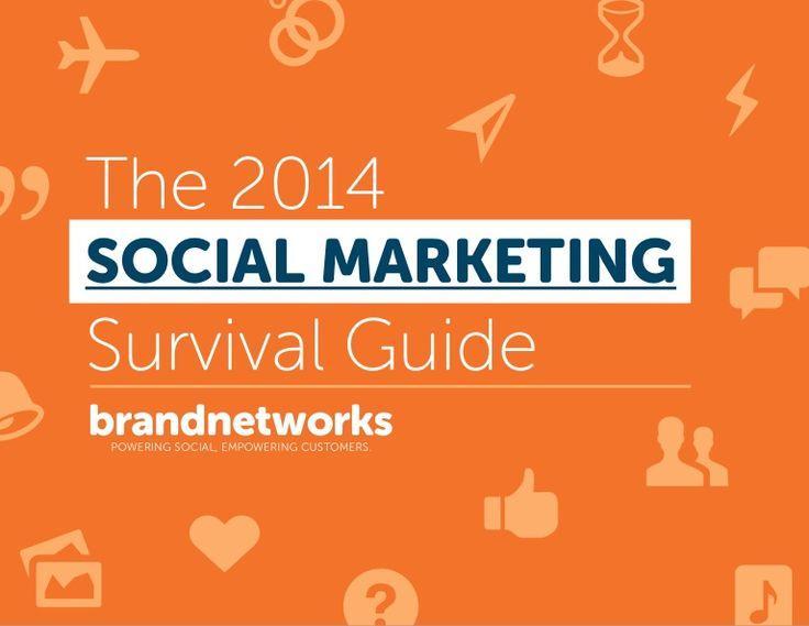 The 2014 Social Media Marketing Guide  by Brand Networks via slideshare